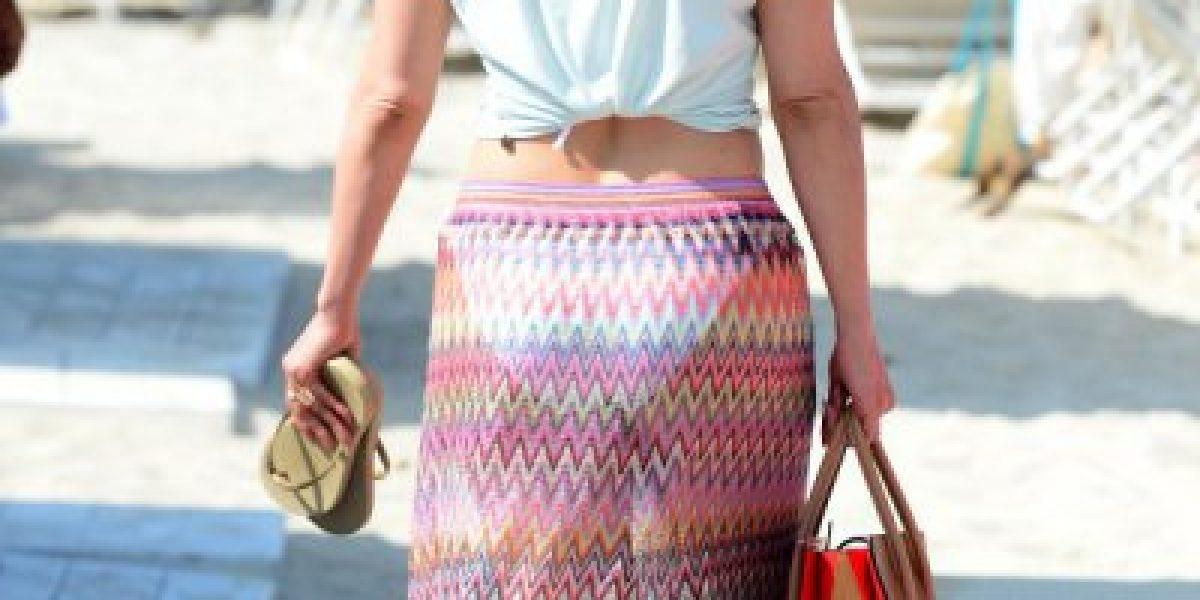 Jennifer López presume sus curvas en bikini