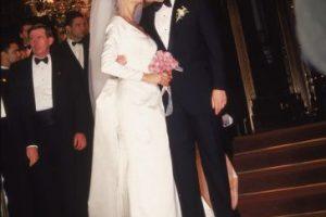 Con quien contrajo matrimonio en 1993 Foto:Getty Images. Imagen Por: