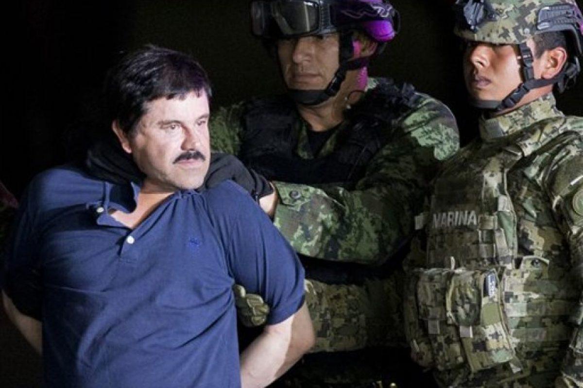 2.- Fundó el cártel de Sinaloa a finales de la década de los 80 luego de que se dividiera el cártel de Guadalajara, del que era parte. Foto:AP. Imagen Por: