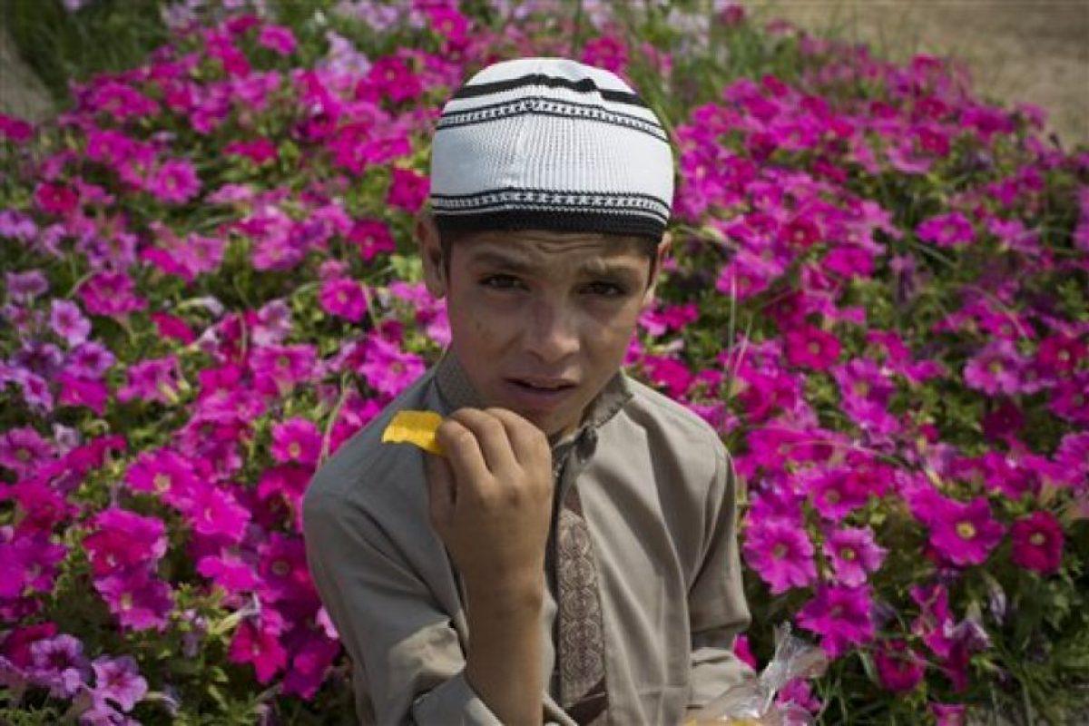 Abdul Rasheed, de nueve años desea ser quiere ser un clérigo musulmán. Foto:AP. Imagen Por: