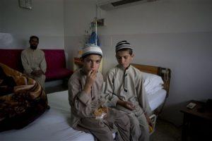 Los niños paquistaníes que son un acertijo para los médicos Foto:AP. Imagen Por: