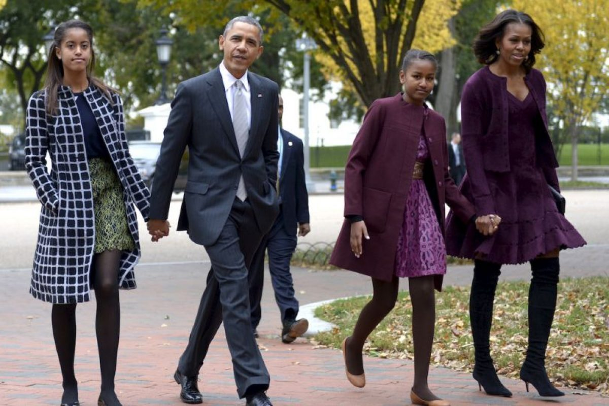 La primera dama estadounidense es la madre de Malia y Sasha Obama. Foto:Getty Images. Imagen Por:
