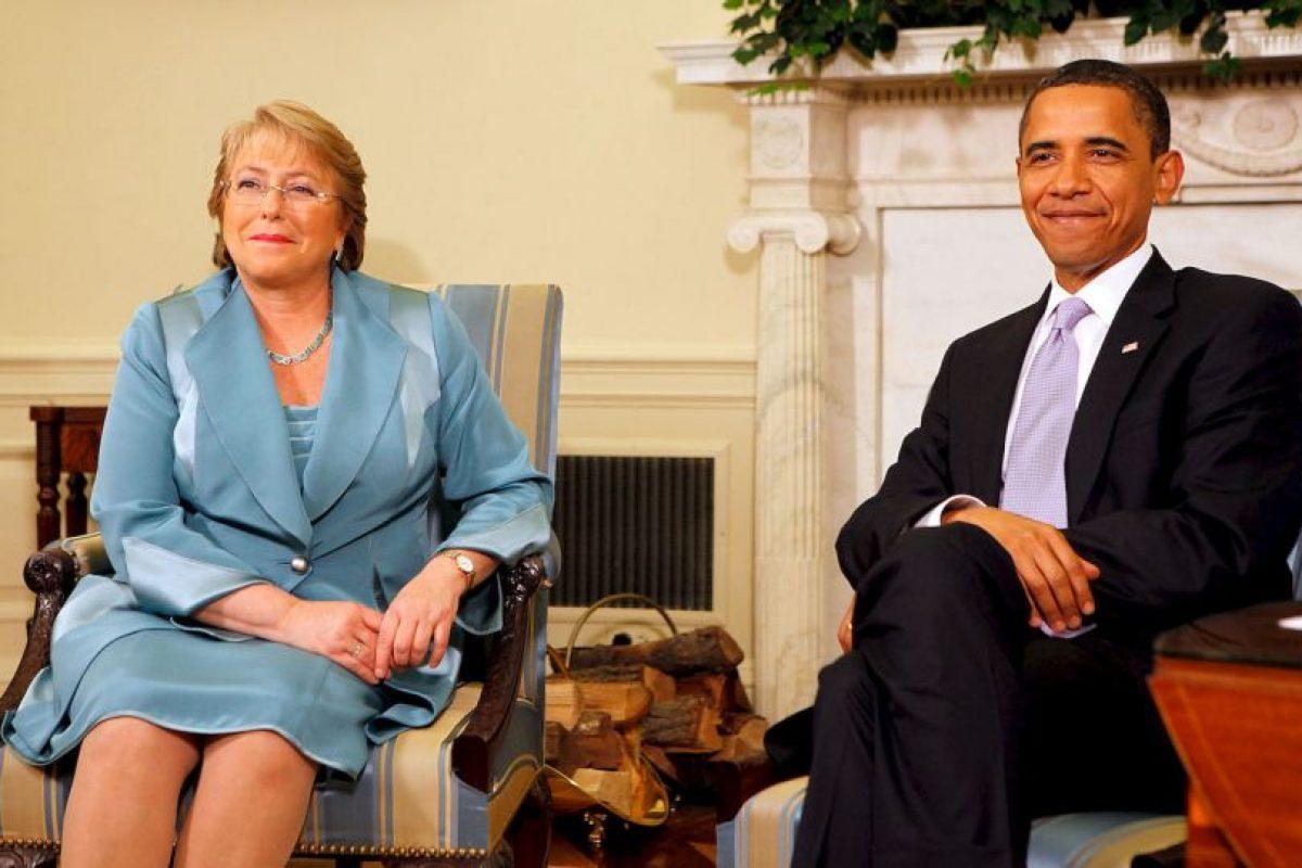 La presidenta de Chile tiene tres hijos. Foto:Getty Images. Imagen Por: