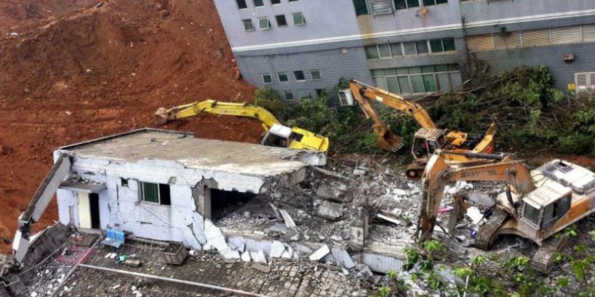 Deslizamiento de tierra deja 41 desaparecidos en China