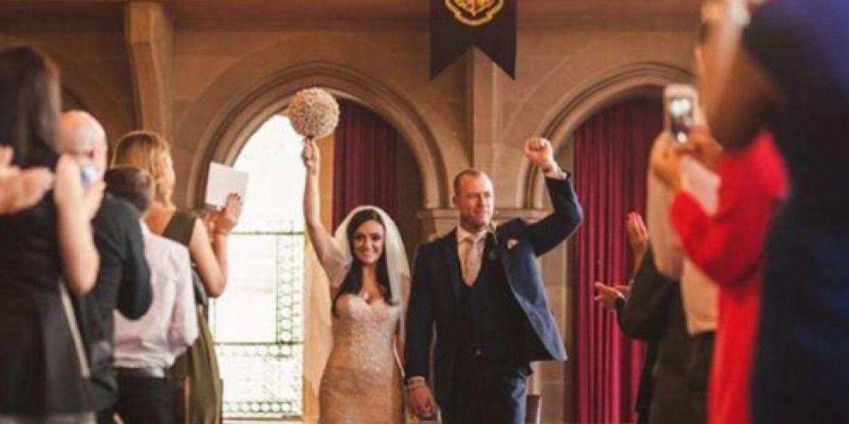 Fotos: Esta pareja se casó al puro estilo de