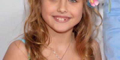 A sus 9 años la hija de Anna Nicole Smith es idéntica a ella