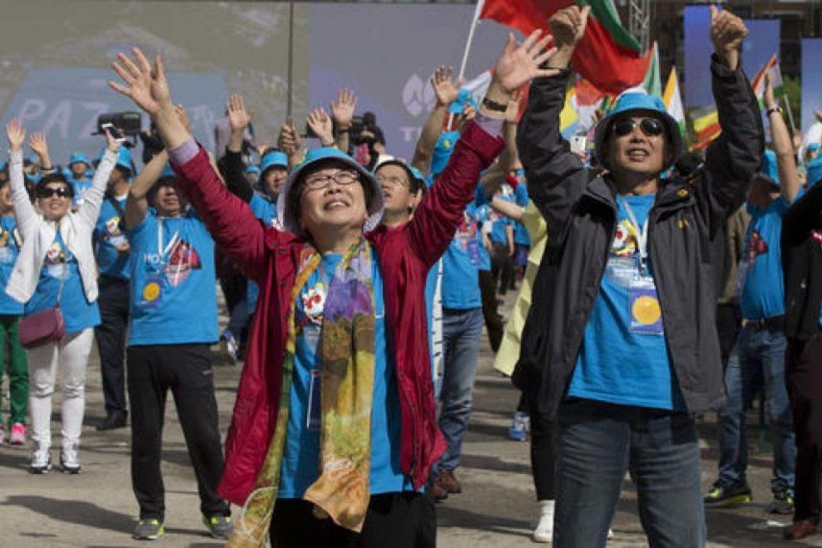 Así festejaron los empleados por sus vacaciones en España. Foto:AP. Imagen Por: