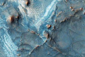 La Tierra es dos veces del tamaño de Marte. Foto:NASA. Imagen Por: