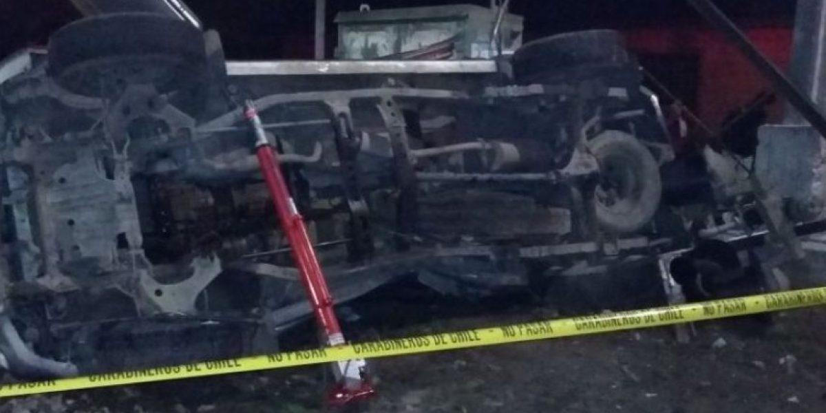 Identifican a fallecido en colisión entre camioneta y tren de carga en Pomaire