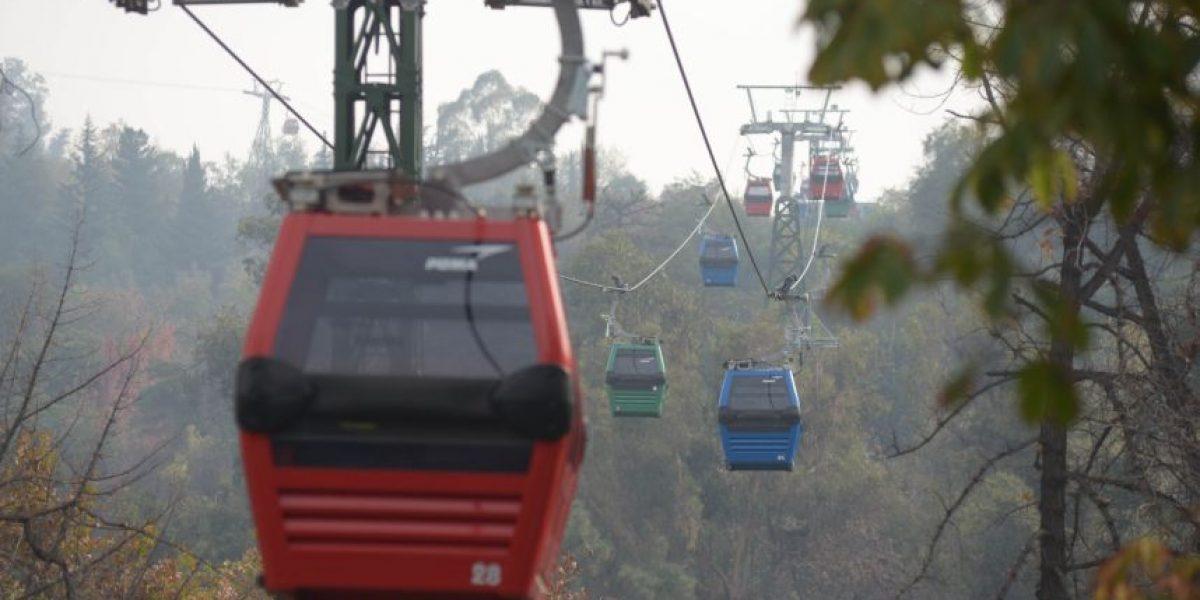 Remodelación del Teleférico de Santiago presenta un 97% de avance y ya tiene fecha de inauguración
