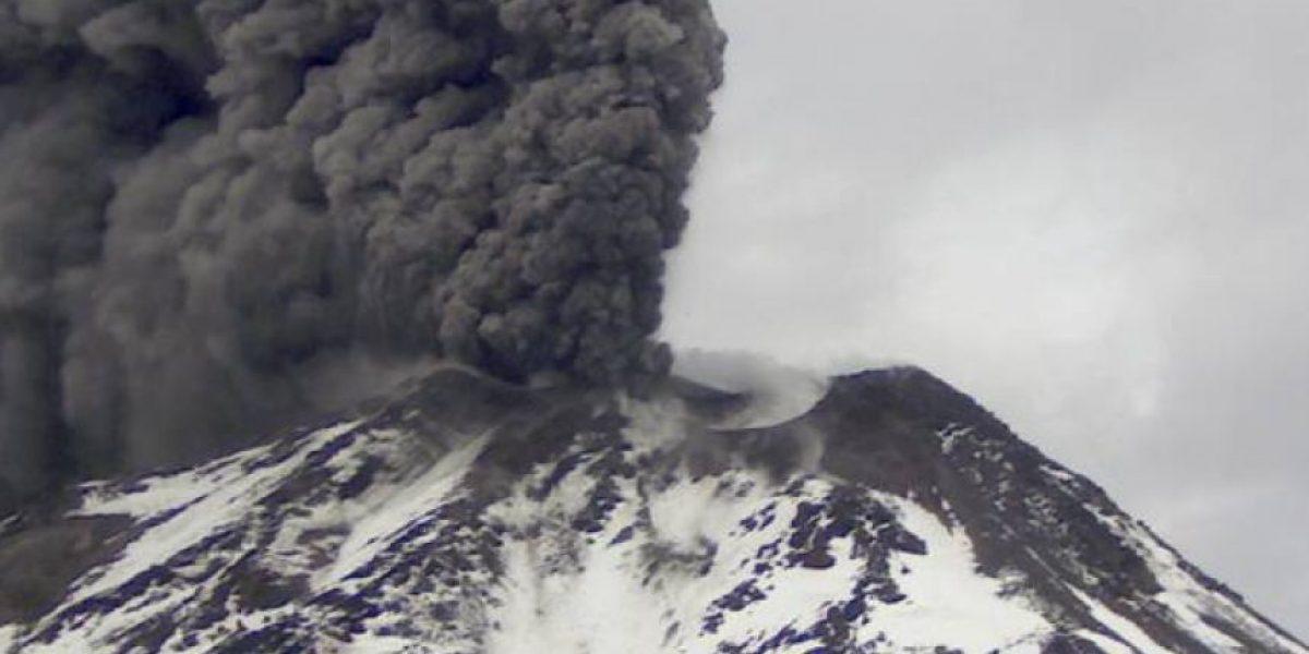 Se reporta pulso eruptivo en el volcán Nevados de Chillán