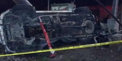 Pomaire: un fallecido y cuatro heridos deja colisión entre camioneta y tren
