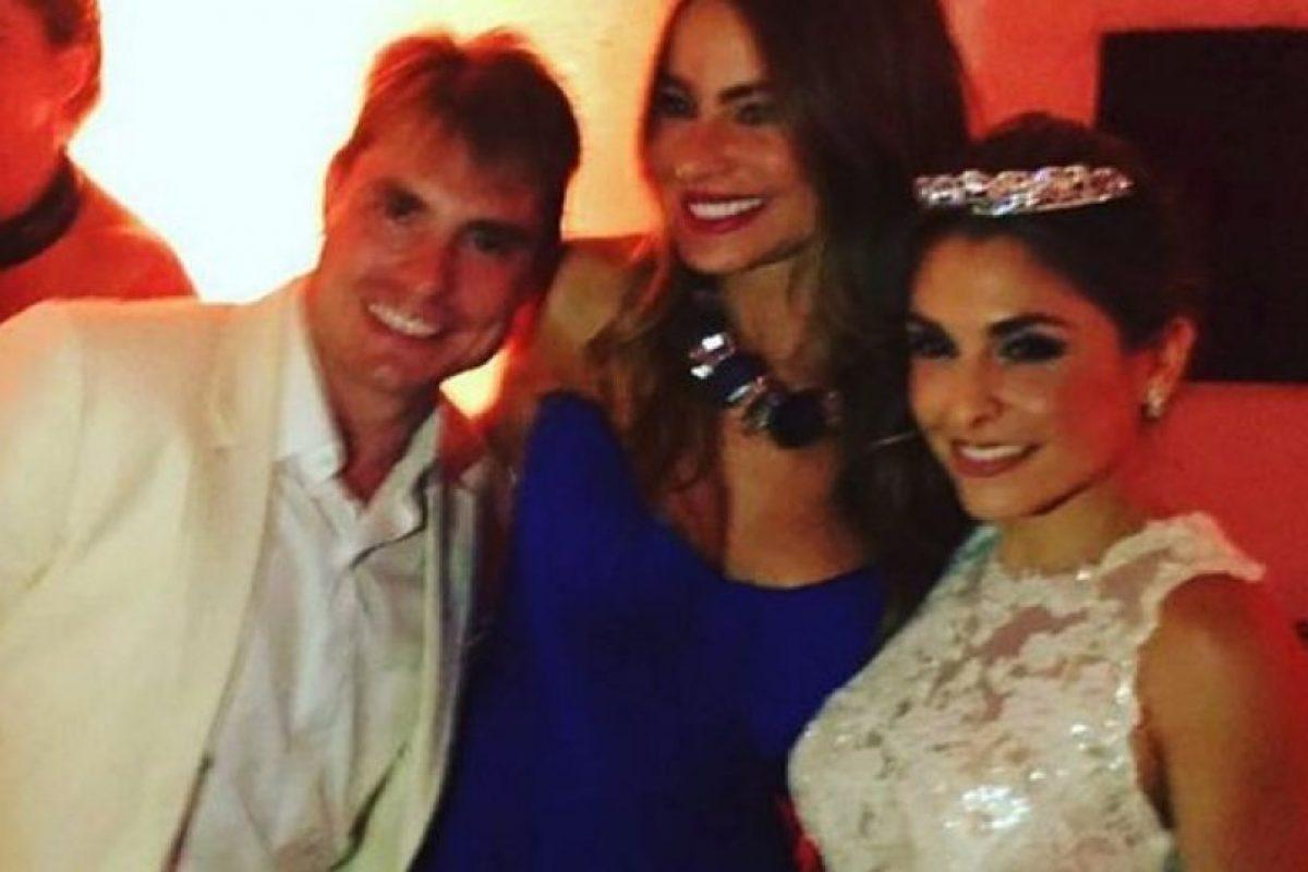 Asistió a la boda de su primo en Cartagena, Colombia Foto:Vía instagram.com/sofiavergara. Imagen Por: