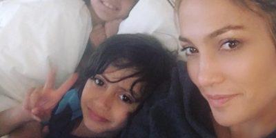 """Jennifer López fue sorprendida el """"Día de las Madres"""""""