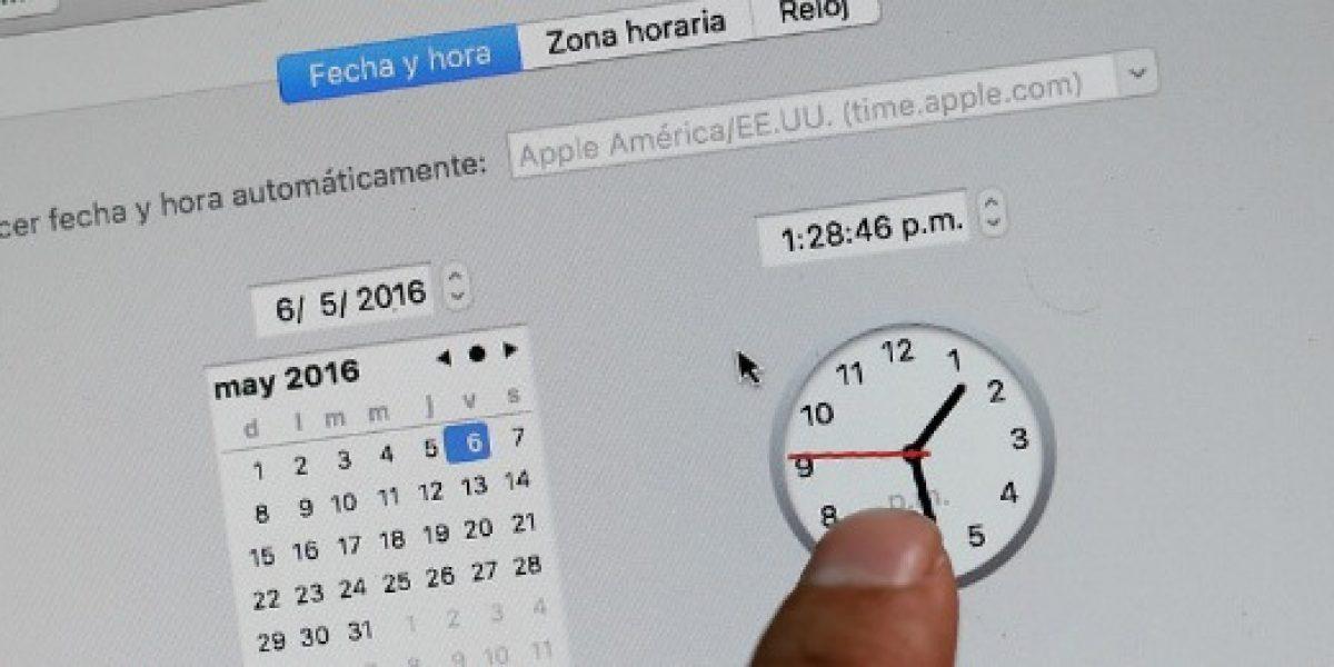 Cambio de hora: las precauciones a tomar en sus dispositivos electrónicos