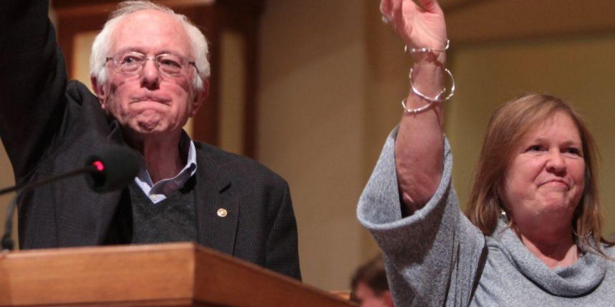Jane, la esposa de Sanders: