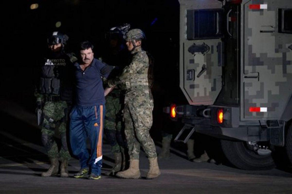 """Tras su captura fue encerrado en el penal de máxima seguridad """"El Altiplano"""". Foto:AP. Imagen Por:"""