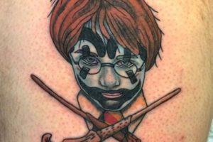 """""""Harry Potter"""" Foto:vía instagram.com/daveycxc. Imagen Por:"""