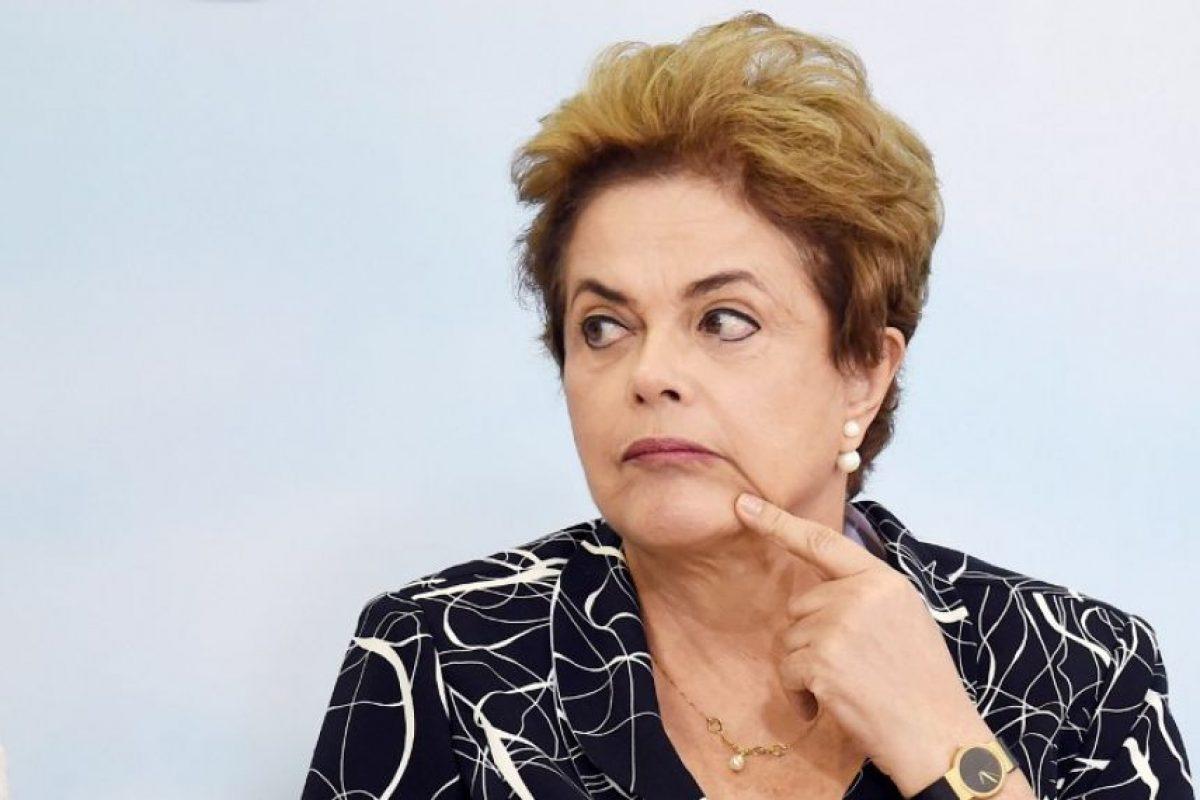 La presidenta asegura es víctima de un golpe de Estado Foto:AFP. Imagen Por: