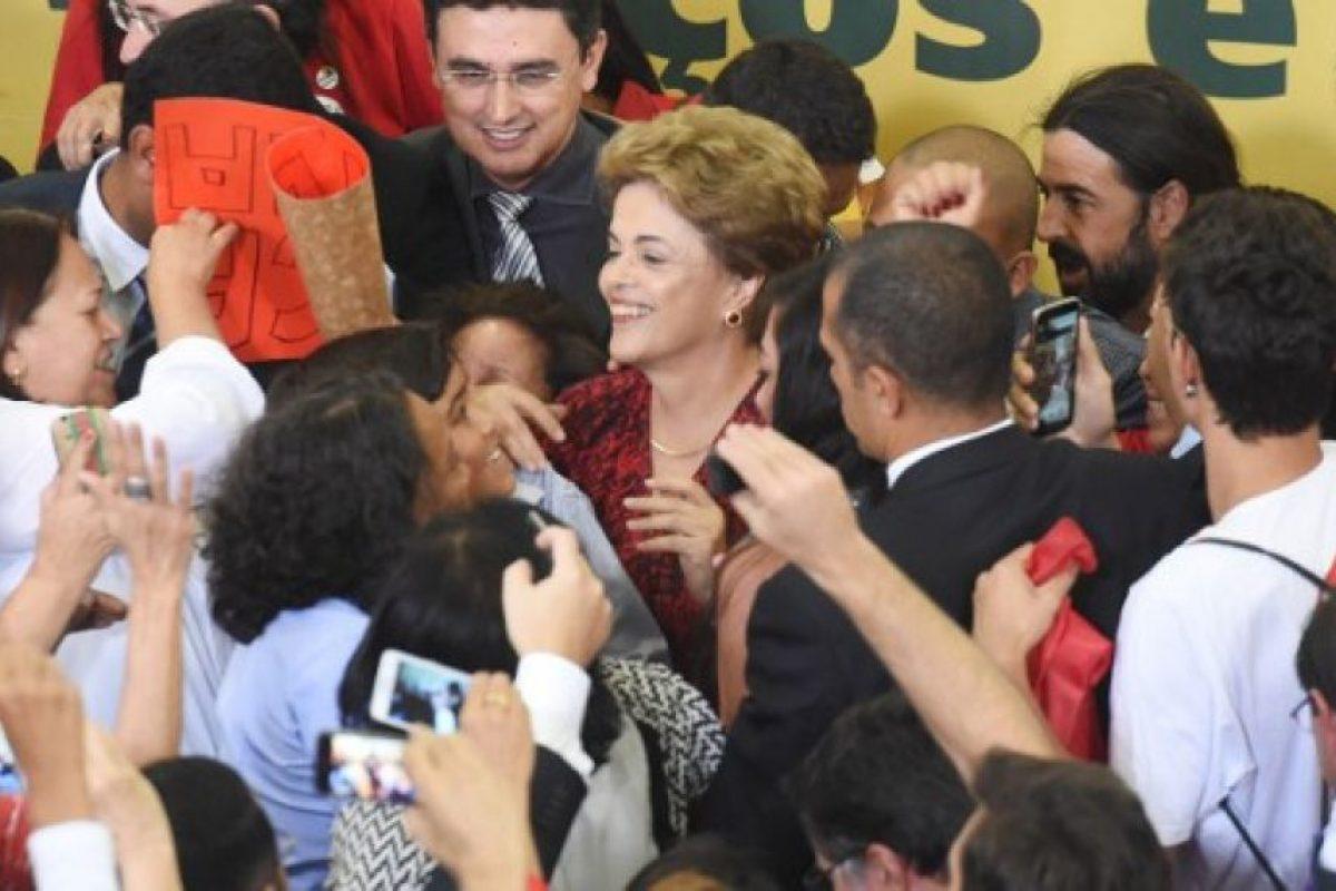 Una noticia que alegró a la mandataria. Foto:AFP. Imagen Por: