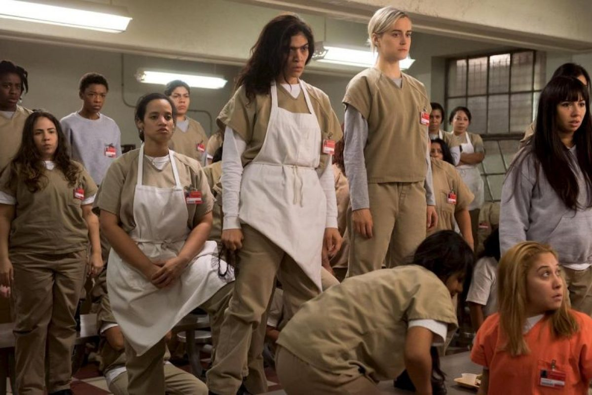 """Orange is the New Black"" Foto: vía facebook.com/orangeisthenewblack. Imagen Por:"