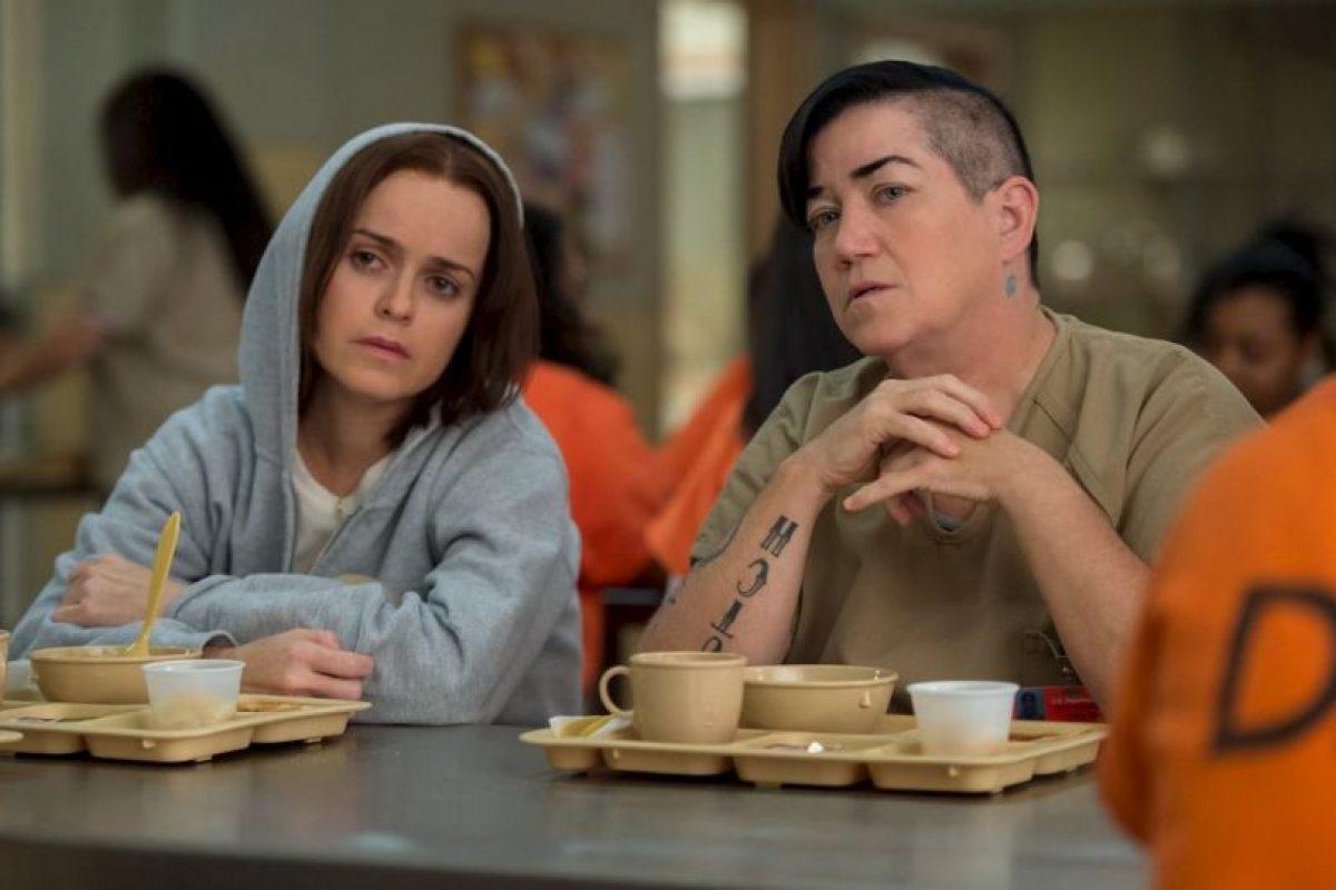"""Prisioneras como """"Red"""" (Kate Mulgrew), """"Crazy Eyes"""" (Uzo Aduba) y """"Pennsatucky"""" (Taryn Manning) existieron en prisiones estadounidenses Foto:vía facebook.com/orangeisthenewblack. Imagen Por:"""