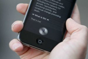 """Siri"" es la asistente personal de Apple. Foto: Getty Images. Imagen Por:"