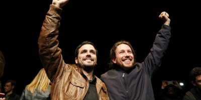 La izquierda se úne en España de cara a las elecciones