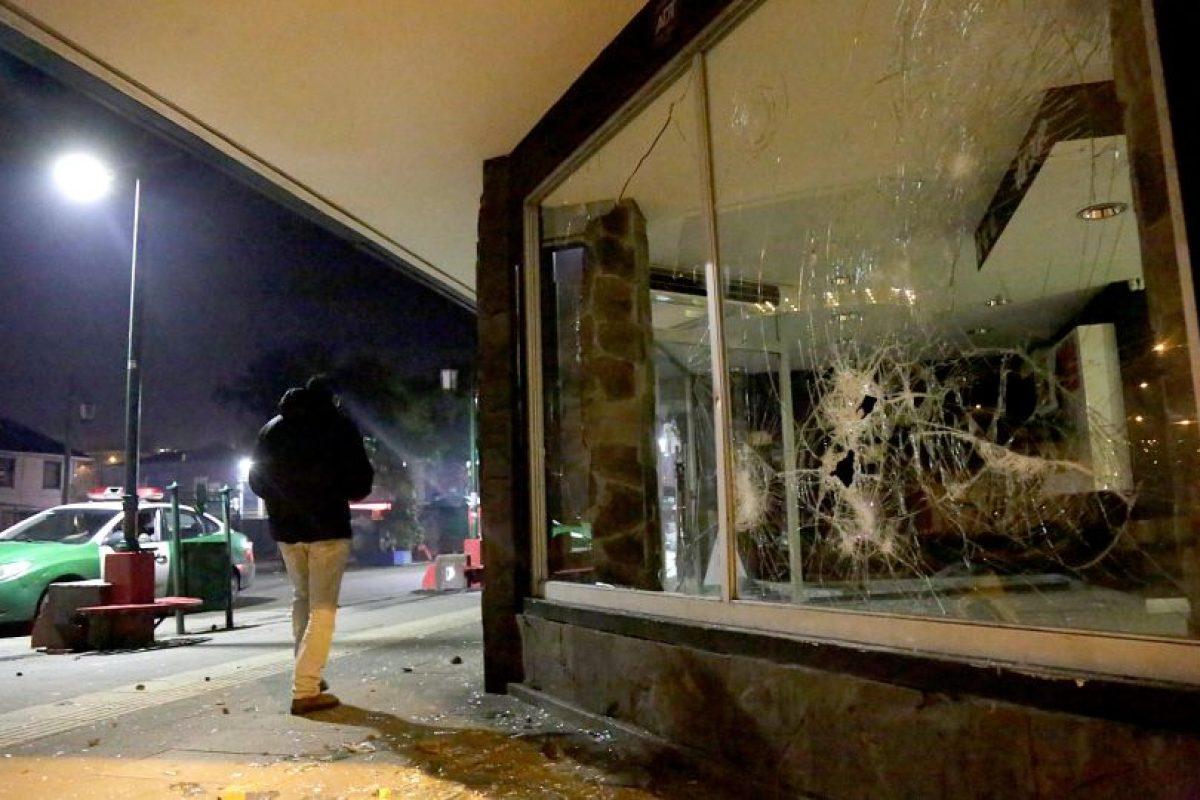 Ocurrió en Puerto Montt. Foto:Agencia Uno. Imagen Por: