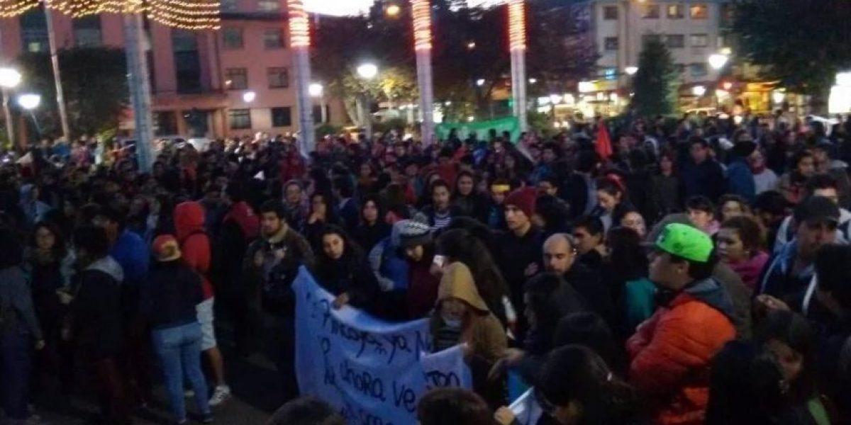Incidentes en Puerto Montt tras marcha a favor de pescadores