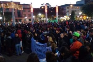 Marcha en Puerto Montt Foto:Reproducción. Imagen Por: