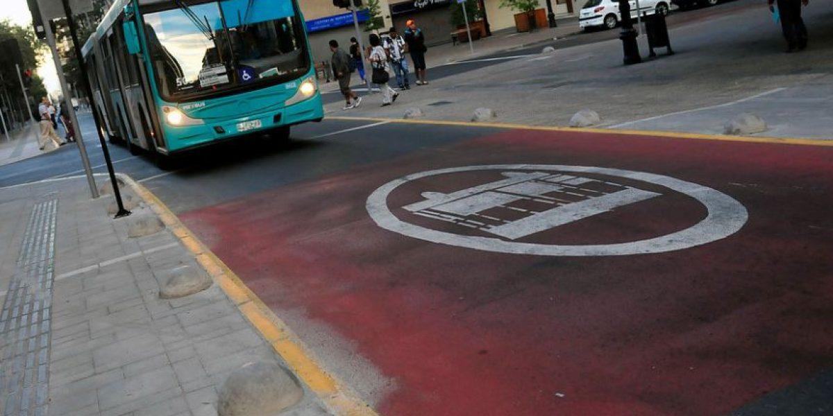 Vía exclusiva de San Antonio: más de 2.500 infracciones en una semana