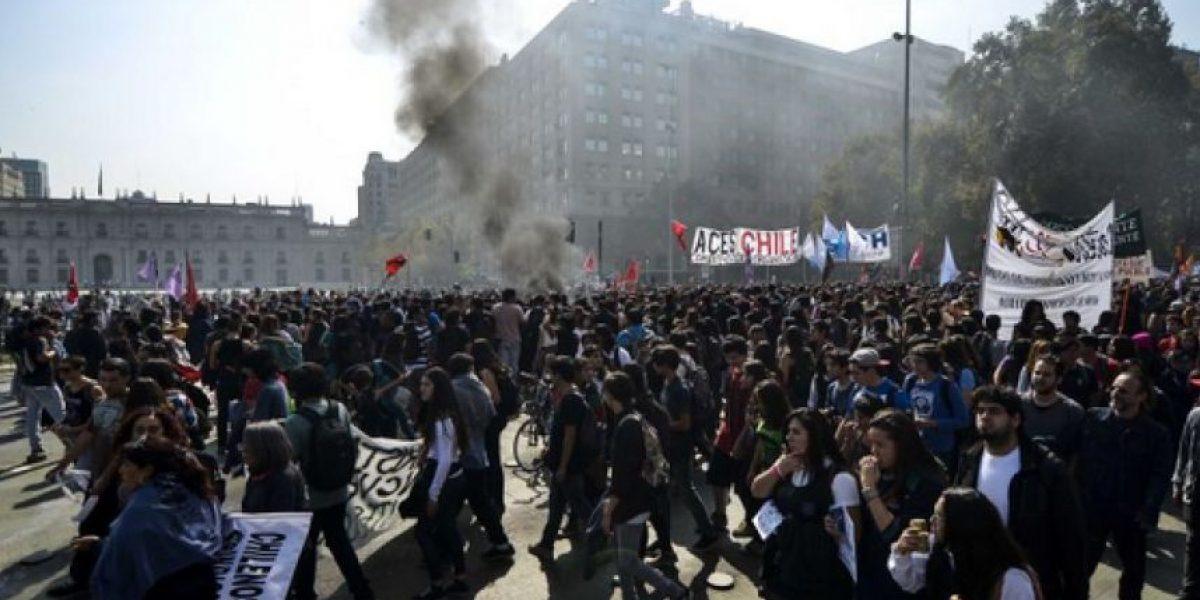 Marcha estudiantil en Santiago: estos son los desvíos de tránsito