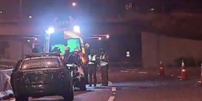 Accidente de tránsito en la Costanera Norte dejó una víctima fatal