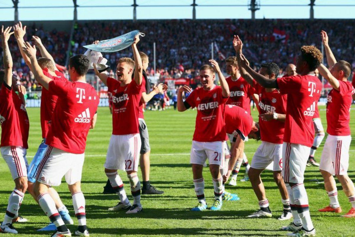 Campeón de a Bundesliga Foto:Getty Images. Imagen Por: