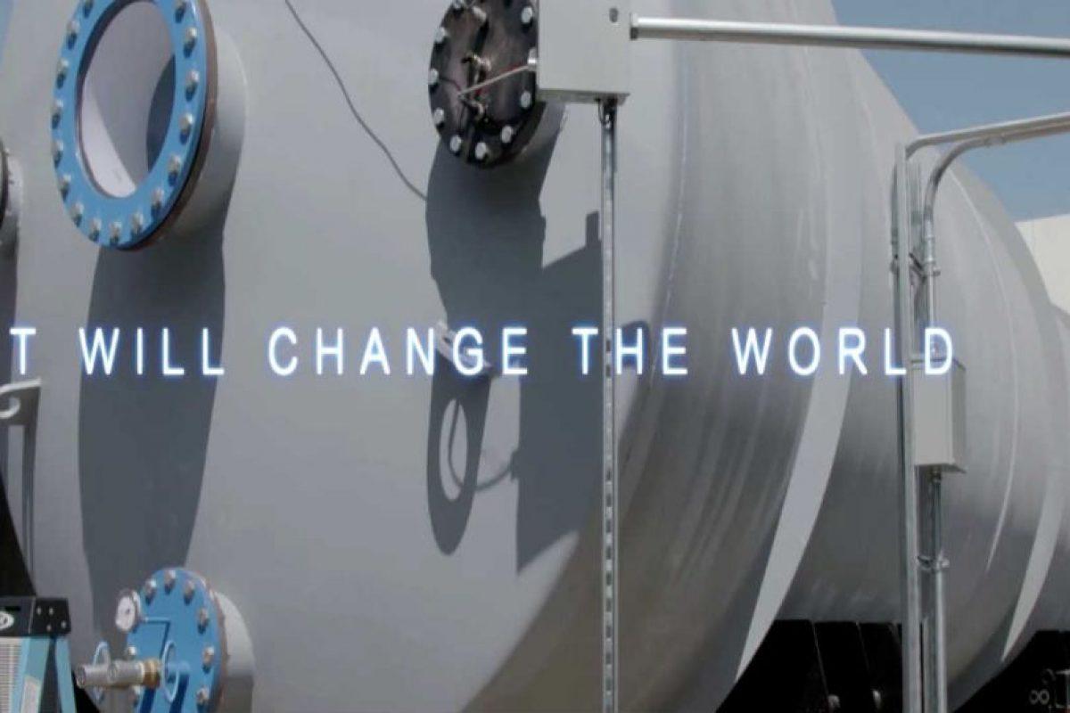 """""""Cambiará al mundo"""" Foto:Hyperloop. Imagen Por:"""