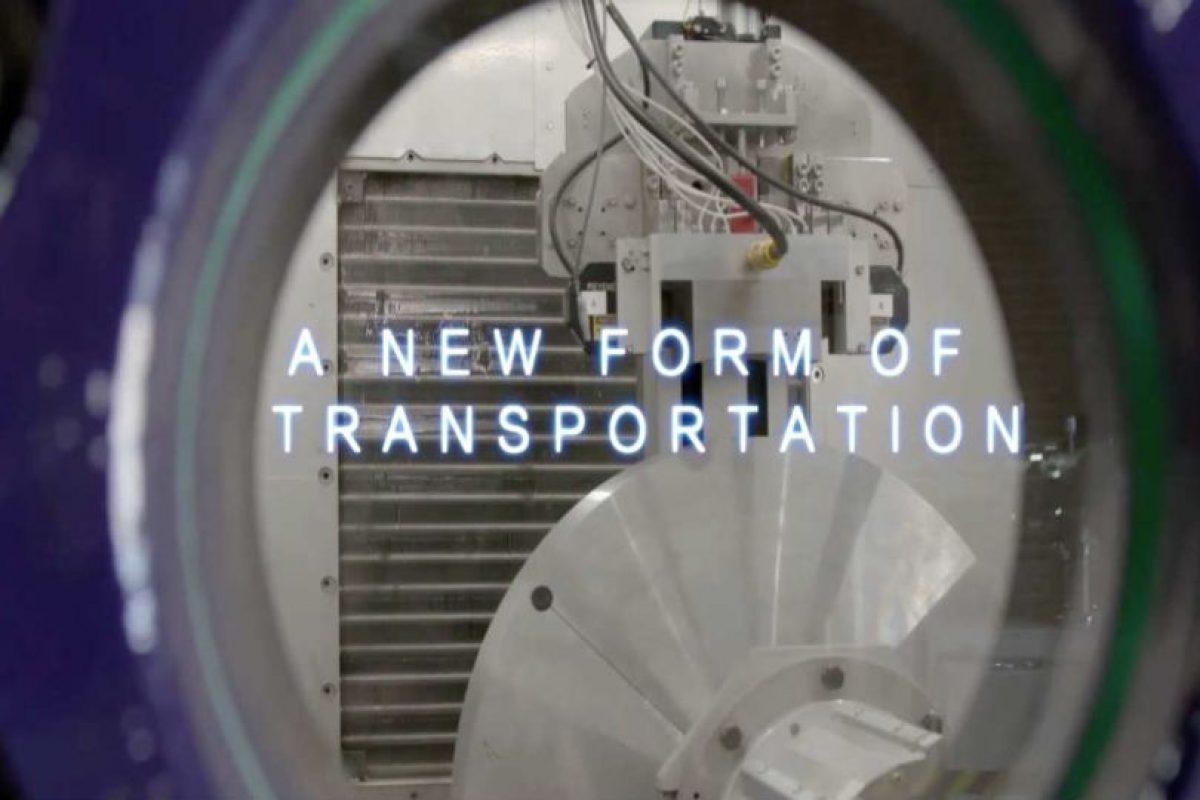 """""""Una nueva forma de transporte"""" Foto:Hyperloop. Imagen Por:"""