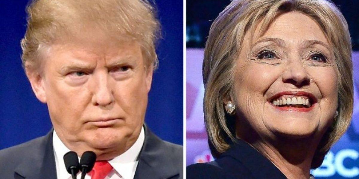 Trump avanza sin rivales y Clinton pierde en nuevas primarias en EEUU