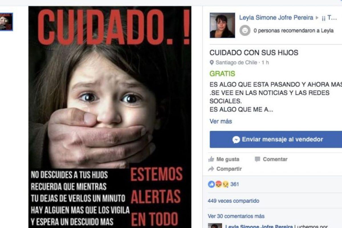 Con letreros de este tipo, a través de las redes sociales, se busca alertar a las mujeres principalmente. Foto:Reproducción. Imagen Por: