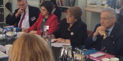 Visita a Suecia: Presidenta Bachelet participó en diálogo sobre igualdad y equidad