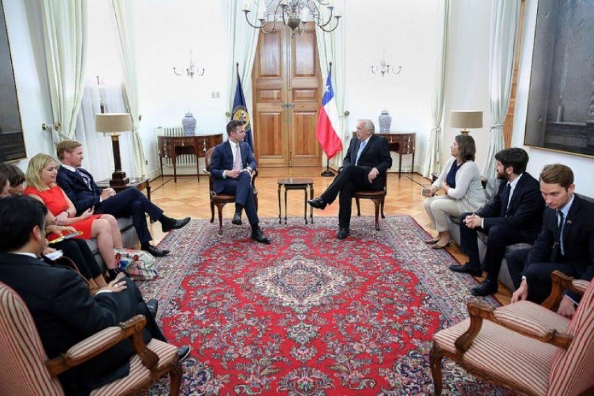 En noviembre de 2015 visitó nuestro país y se reunió, entre otras actividades, con el ministro del Interior, Jorge Burgos. Foto:Reproducción / Ministerio del Interior. Imagen Por:
