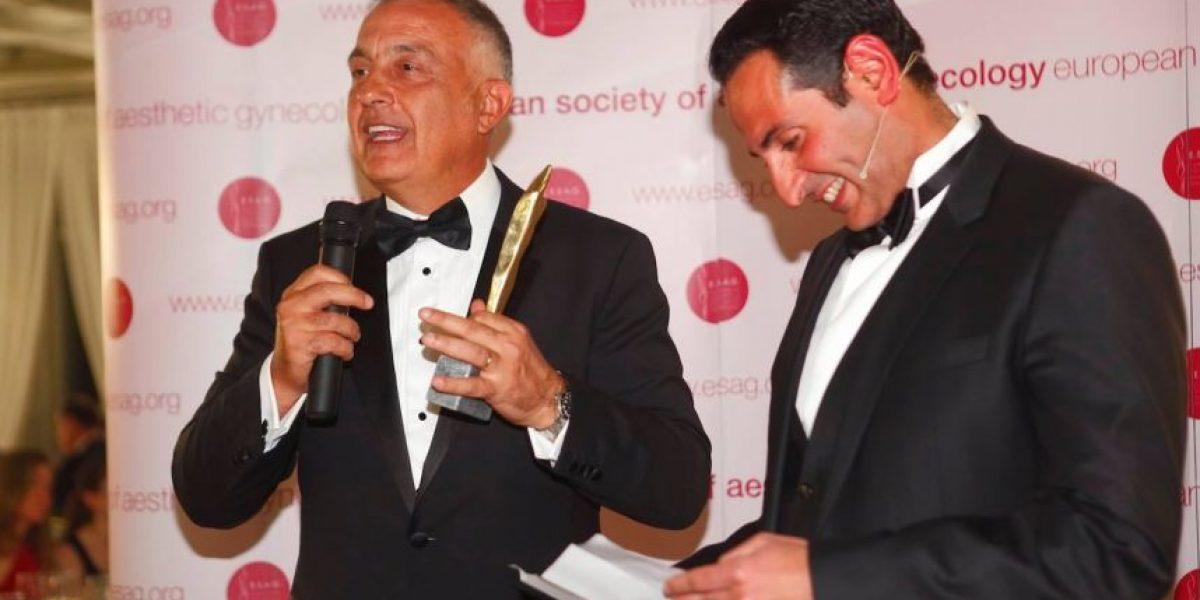 Médico chileno logra máximo galardón de la Sociedad Europea de Ginecología Estética
