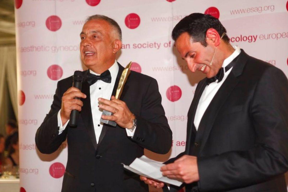El ginecólogo Jack Pardo, a la izquierda de la imagen. Foto:Gentileza. Imagen Por: