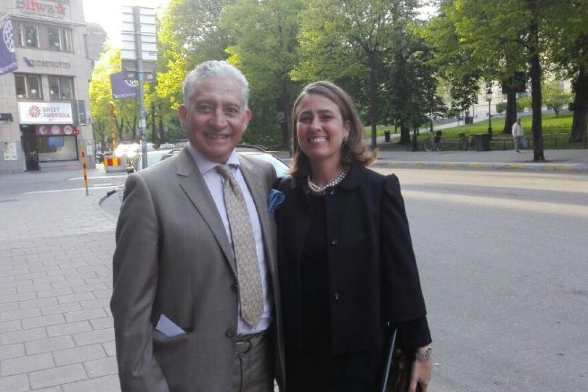 Caroline Edelstam, a la derecha de la imagen. Foto:Publimetro / Mauricio Ávila. Imagen Por: