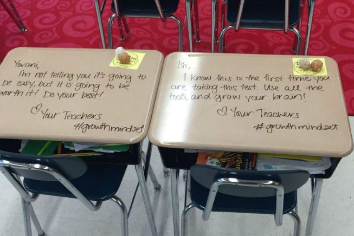 El acto de Langford no sólo cautivó a sus estudiantes, sino también a otros maestros.. Imagen Por: