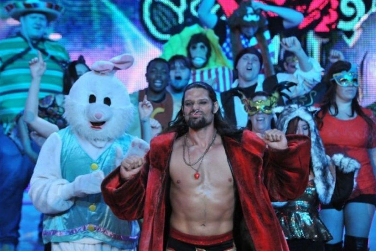 Adam Rose fue arrestado por violencia doméstica. Foto:WWE. Imagen Por: