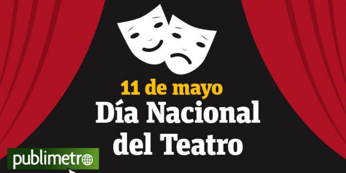 Infografía: 11 de mayo, día nacional del teatro