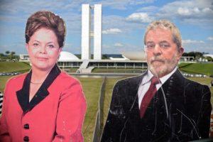 Supliendo al expresidente Luiz Inácio Lula da Silva. Foto:AFP. Imagen Por: