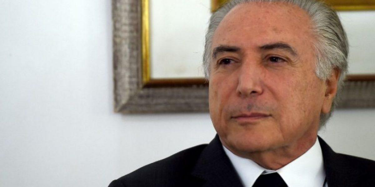 Temer asume Brasil con el desafío de levantar una economía noqueada