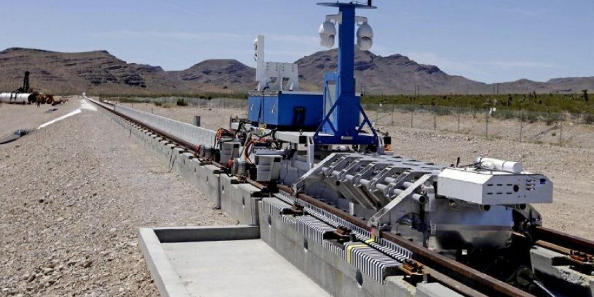Primera prueba de Hyperloop One: el tren de alta velocidad que levita
